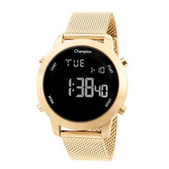 Relógio Champion Feminino Digital Ch40062u Dourado