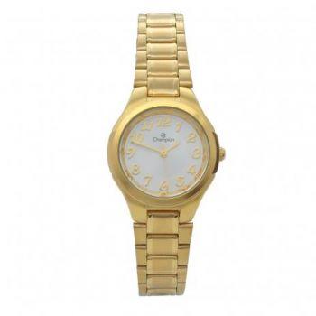 Relógio Champion Feminino Dourado Social CH24928H