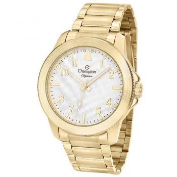 Relógio Champion Feminino Elegance Dourado + Kit Semijóia Cn27483w