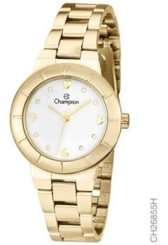 Relógio Champion Feminino Grande Dourado P/ D'água Escolha o Seu