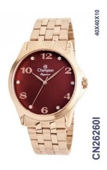 Relógio Champion Feminino Grande Rosê Escolha o Seu