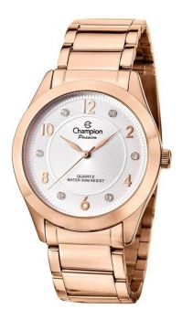 Relógio Champion Feminino Rosê Cn29230z Original