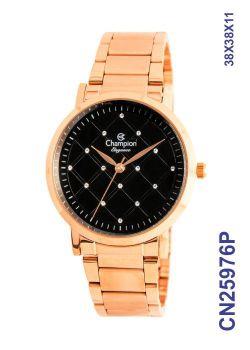 Relógio Champion Feminino Rose Elegance CN25976P