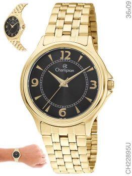 Relógio Champion Feminino Social CH22895U Dourado