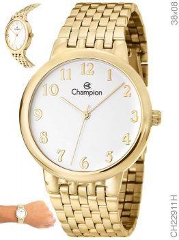 Relógio Champion Feminino Social CH22911H Dourado