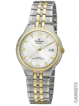 Relógio Champion Feminino Steel Ca20527s Prata e Dourado