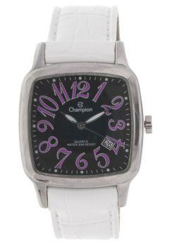 Relógio Champion Feminino Visor Preto e Roxo CH25614H