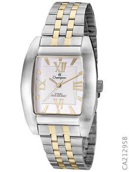 Relógio Champion Masculino Ca21295b Prata e Dourado