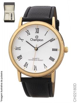 Relógio Champion Masculino Ch22180d Dourado + Pulseira