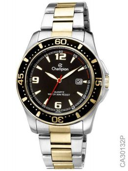 Relógio Champion Masculino Sport CA30132P Aço Misto