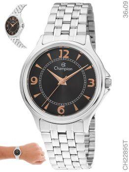 Relógio Champion Prateado Feminino Ch22895t Prata