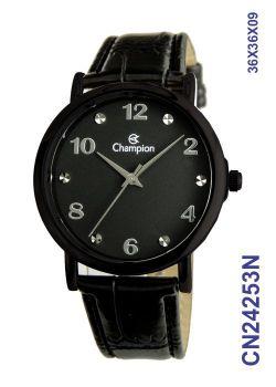 Relógio Champion Social CN24253N Fundo Preto