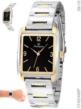 Relógio Champion Unissex Analógico Ch22466p Retângulo