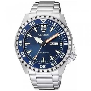 Relogio Citizen Automatico Marine Sport Nh8389-88l Tz31203f