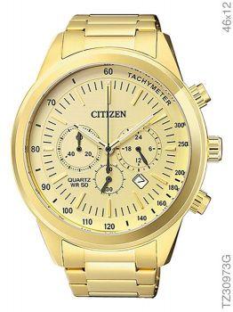 Relógio Citizen Cronógrafo TZ30973G Dourado