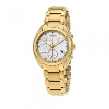 Relógio Citizen Feminino Tz28324h Ecodrive Dourado