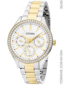 Relógio Citizen Ladies TZ28404B Prata e Dourado