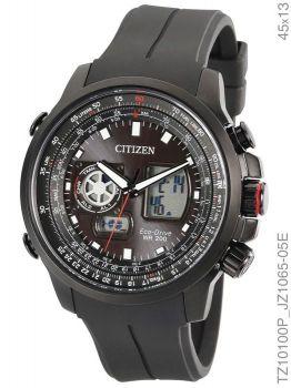 Relógio Citizen Masculino Tz10100p Eco-drive Preto