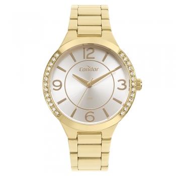 Relógio Condor Feminino Dourado Ouro Original Copc21Aecs/4B