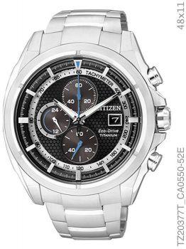 Relógio De Pulso Citizen Tz20377t Masculino Super Titanium