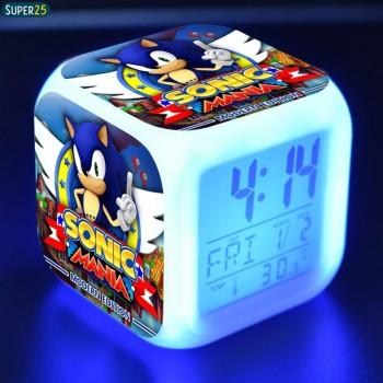 Relógio Despertador Cubo Led Sonic