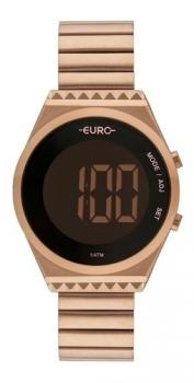 Relógio Euro Feminino Rosé Fashion Fit Slim Eubjt016ab/4j