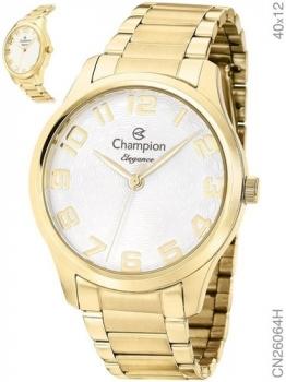 Relógio Feminino Champion CN26064H Dourado