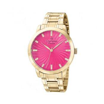 Relógio Feminino Champion Dourado Analógico Cn29276l