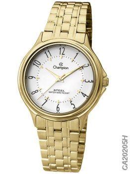 Relógio Feminino Champion Steel Ca20205h Dourado