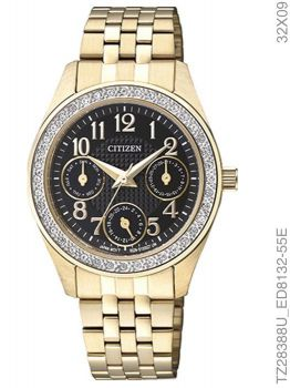 Relógio Feminino Citizen Analógico TZ28388U Dourado