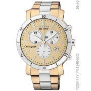 4ba0c9e9a2 Relógio Feminino Citizen TZ20144Y Ecodrive Dourado e Prata