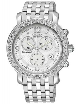 Relógio Feminino Citizen TZ28039K Aço Inoxidável Prata