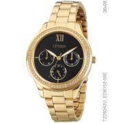 19794d4efd Relógio Feminino Citizen TZ28342U Dourado