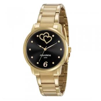 Relógio Feminino Mondaine 53921LPMGDE2 Original A Prova D'Agua C/ Garantia Ouro