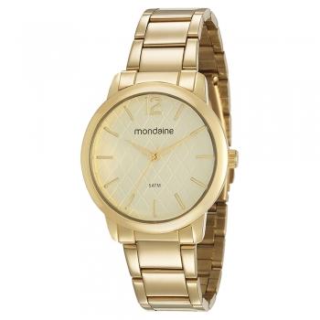 Relógio Feminino Mondaine Dourado 53607lpmvde1