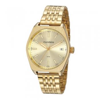 Relógio Feminino Mondaine Dourado Promoção 32181GPMVDE1