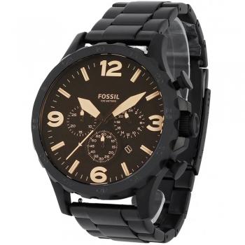 Relógio Fossil Masculino Cronógrafo Jr1356/4mn Preto