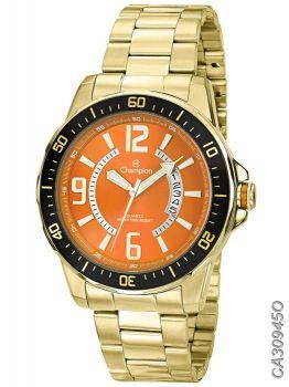 Relógio Masculino Champion Sports CA30945O Dourado
