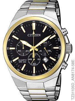 Relógio Masculino Citizen Cronógrafo Tz31105d Aço Inoxidável Prata