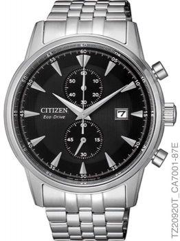 Relógio Masculino Citizen Eco-Drive Tz20920t Axo Inoxidável Prata