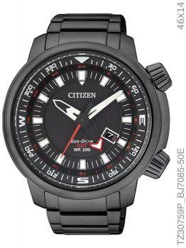 Relógio Masculino Citizen Eco-drive TZ30759P Preto