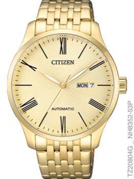 Relógio Masculino Citizen TZ20804G Automatic Dourado