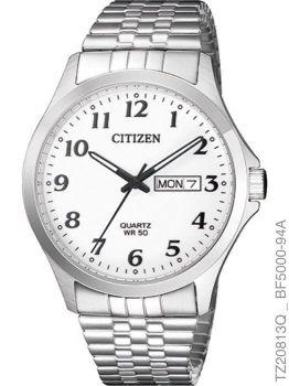 Relógio Masculino Citizen TZ20813Q Quartz Aço Inoxidável Prata