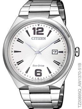 Relógio Masculino Citizen TZ20895Q Eco-Drive Aço Inoxidável Prata