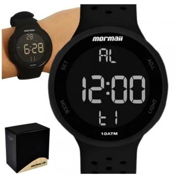 Relógio Masculino Digital Mormaii A Prova D'água Esportivo