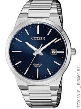 Relogio Masculino Luxo Citizen TZ20831F Prata