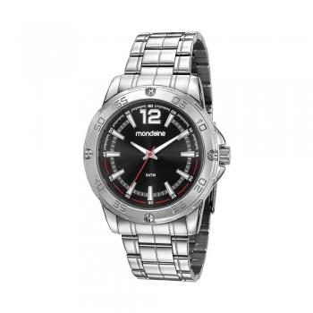 Relógio Masculino Mondaine Prata 83455g0mvne1 Original Com Garantia