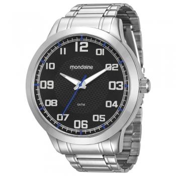 Relógio Masculino Mondaine Prata 99142g0mvne4 Original Garantia