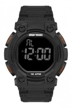 Relógio Masculino Mormaii Digital Militar Esportivo A Prova D'água Original