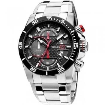 Relógio Masculino Technos Cronografo Azul Ou Vermelho Os10er Performance